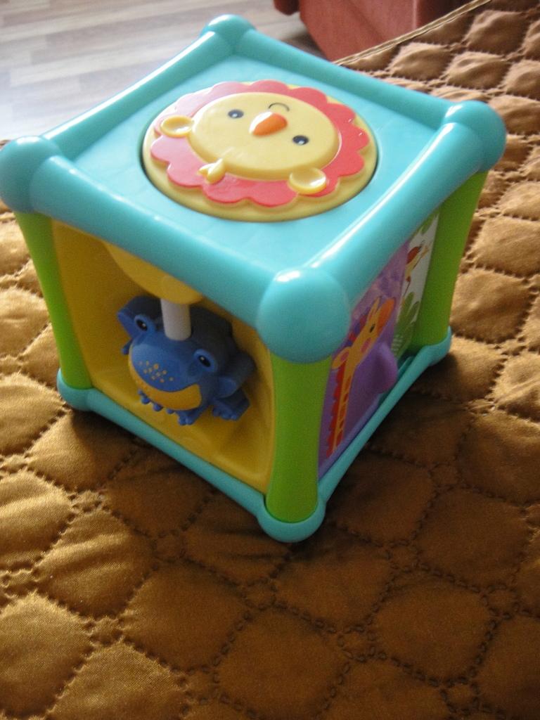 """Игрушка Fisher-Price Кубик """"Веселые животные"""""""
