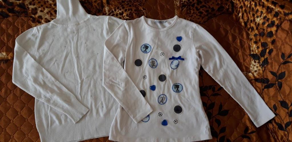одежда на девочку 122-130 размеры
