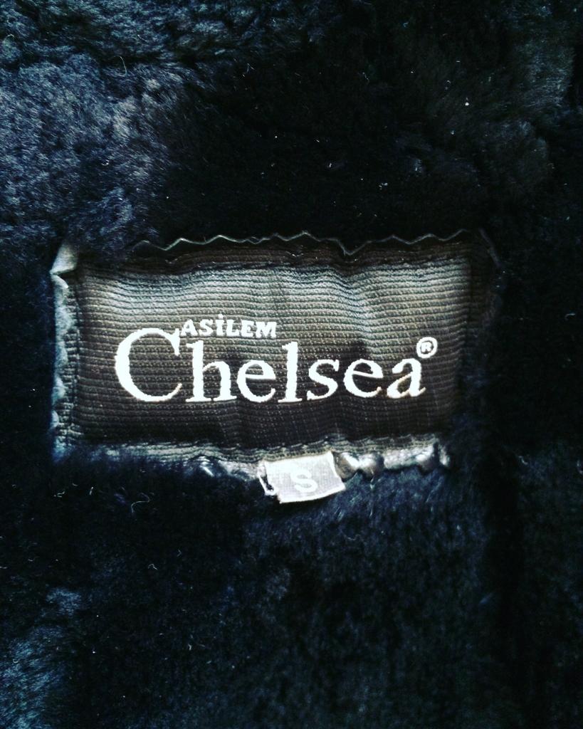 Женская кожаная Дубленка Chelsea asylum