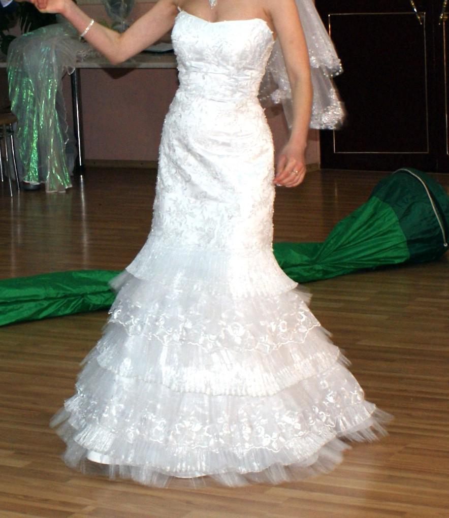 """Свадебное платье фасон """"Рыбка"""", """"Годе"""""""