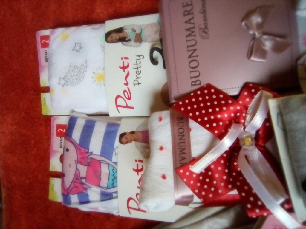 Пакет колготочки-носочки новые на рост 100-110см