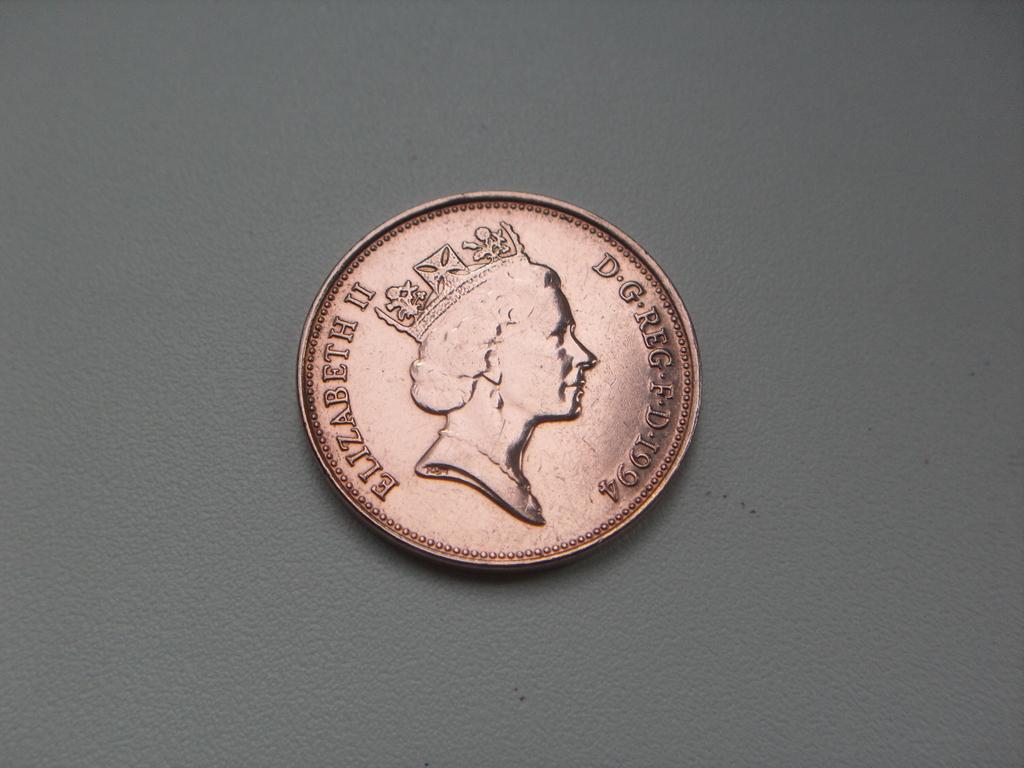Монета 2 Пенса 1994 год Великобритания