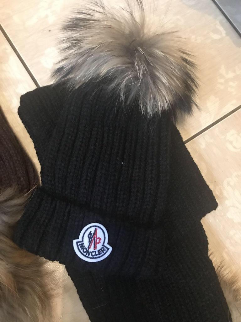 Шапки +шарф Moncler