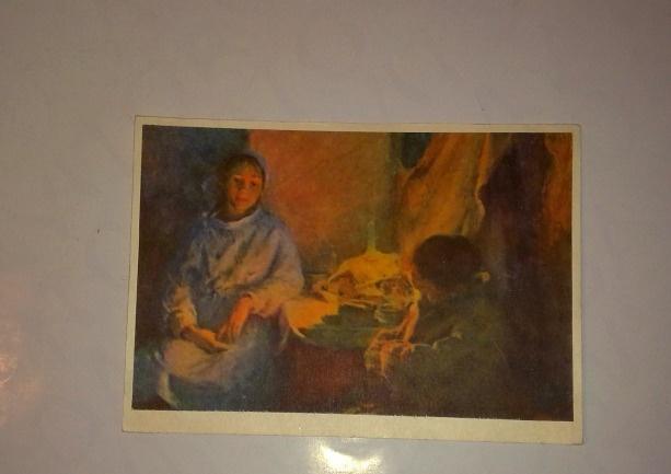 СССР советская старая открытка, 1963год, медсестра