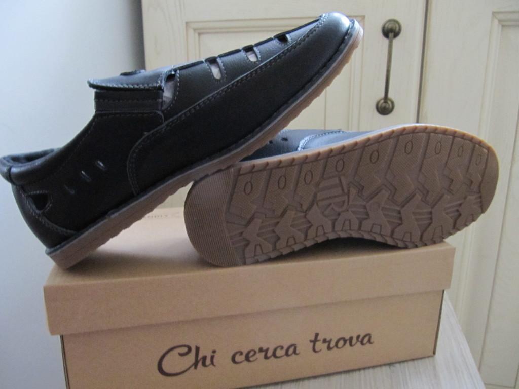 esoro мужские туфли кожа р. 38-40