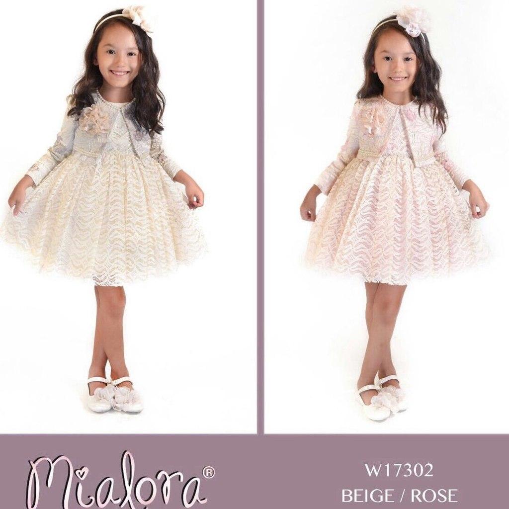 Турецкие платья для девочек от mialora