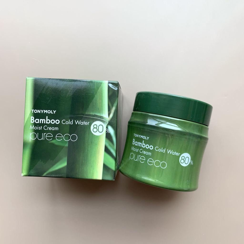 Увлажняющий крем для лица с экстрактом бамбука