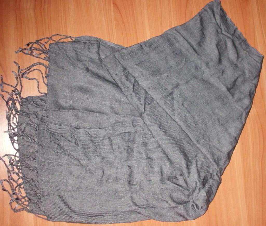 Шарф палантин серый вискоза Trianti 70х170 см
