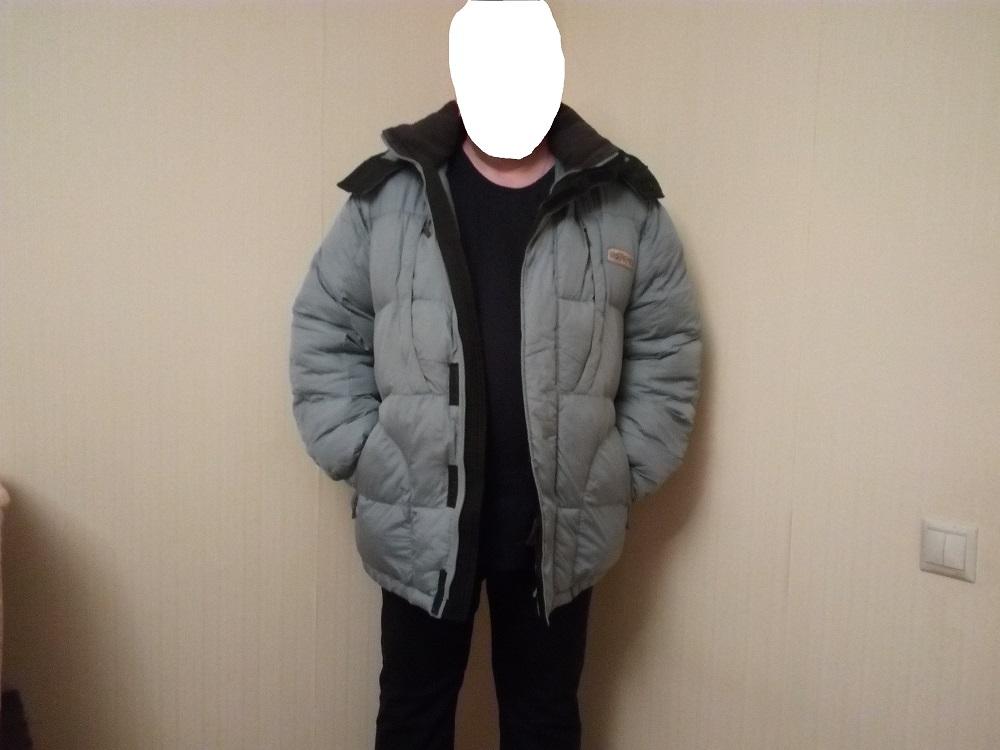 Мужская,зимняя куртка (пуховик)