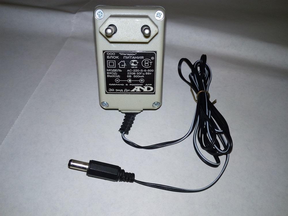 Блок питания AND  AC-220-S-6-500.