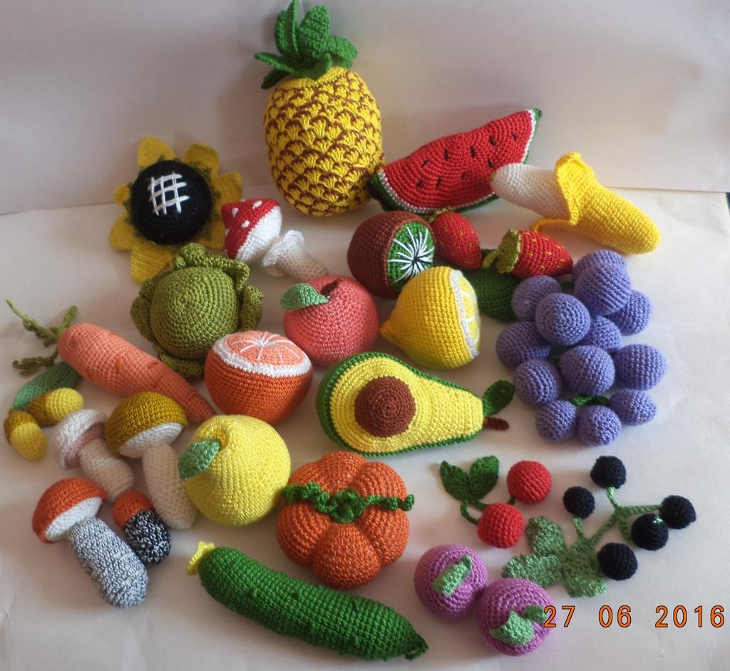 картинки фрукты и овощи вязаные крючком замену лица известной