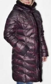Пальто новое, отделка норка, 46 р-р