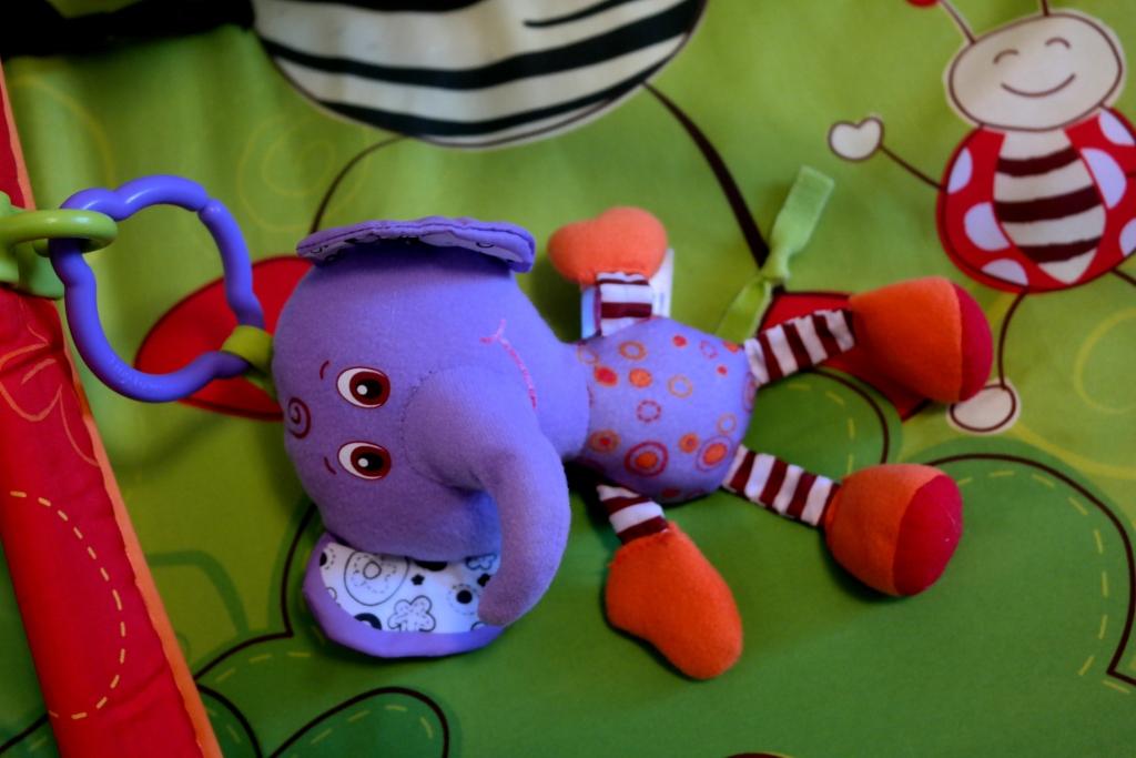 Коврик Разноцветное сафари Tiny Love + подарки