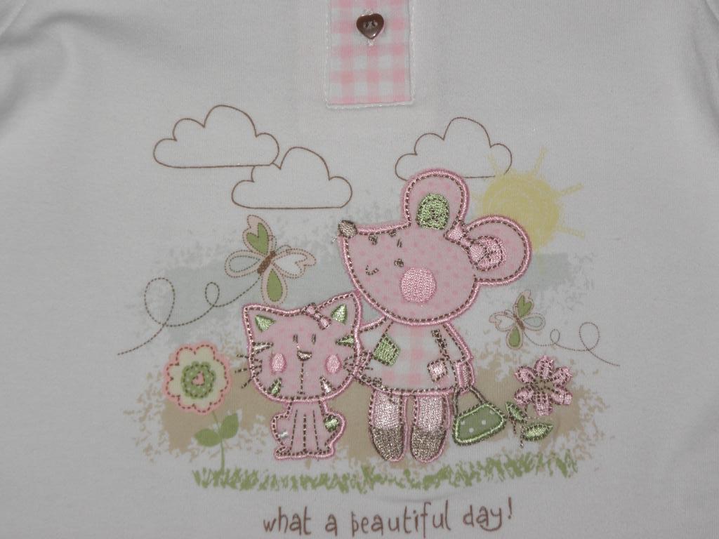 Лонгслив \ футболка Bebe Cool (Англия) 6-12 мес