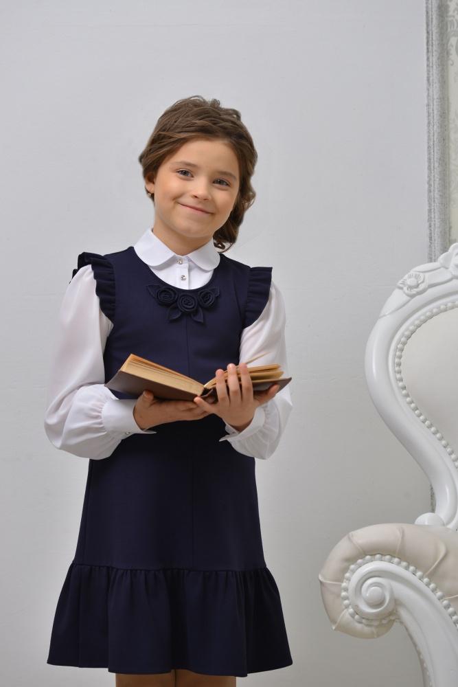 Сарафан школьный Гермиона Germiona р.140 (9-10 л)