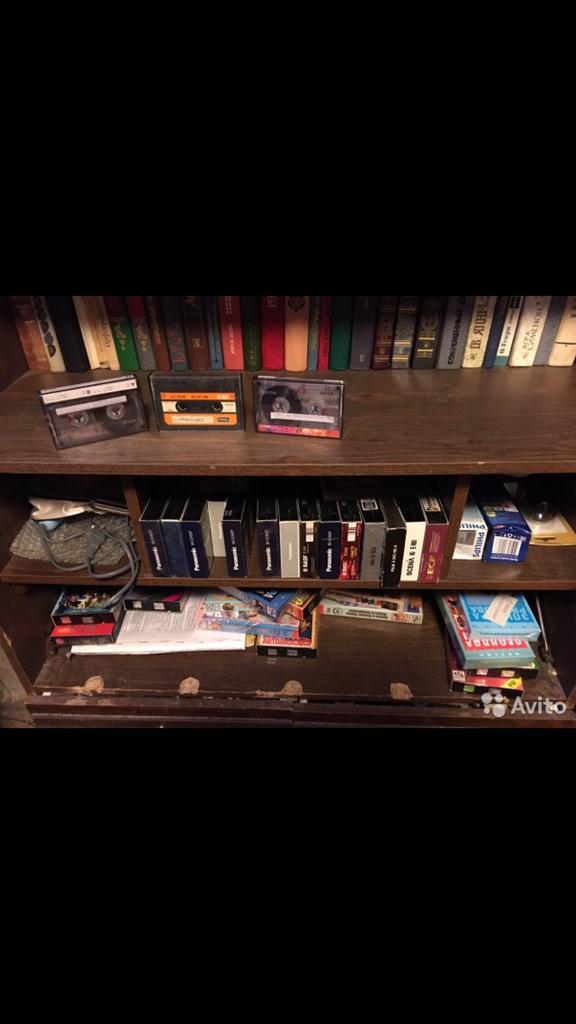 Аудио и видео кассеты.