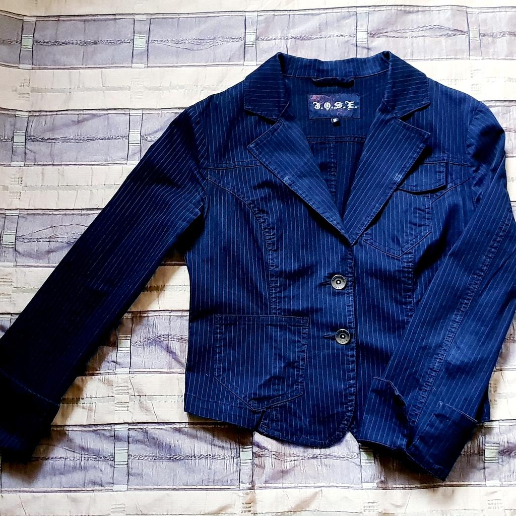 Стильный пиджак под джинсы 44 - 46 размер
