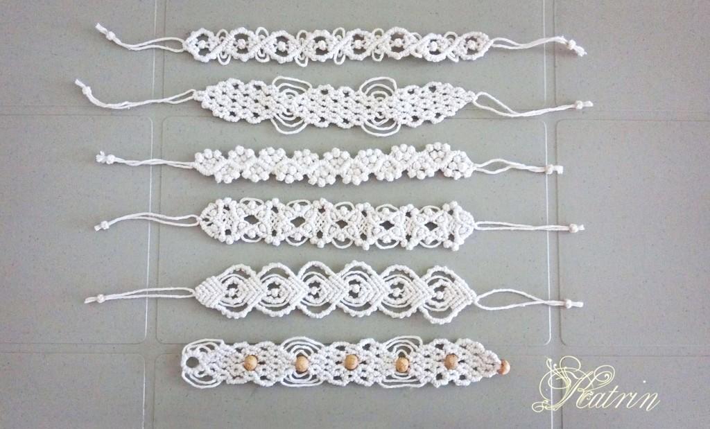 Хлопковые браслеты для девочки