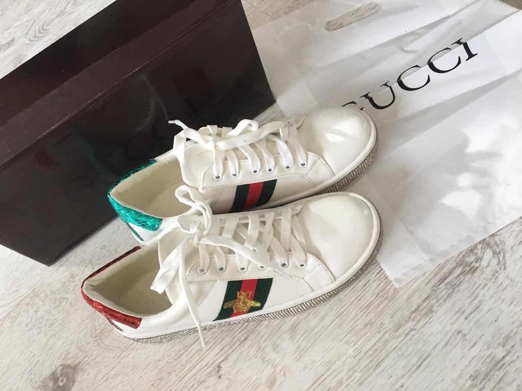 Кеды кроссовки Gucci