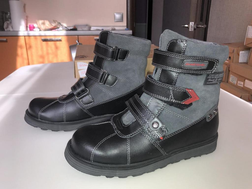 Новые зимние ортопедические ботинки Сурсил-орто