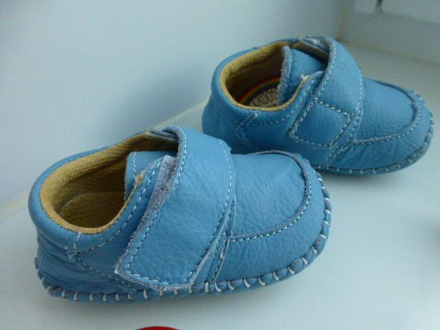 домашние ботинки Tottes, нат.кожа, р.18, новые