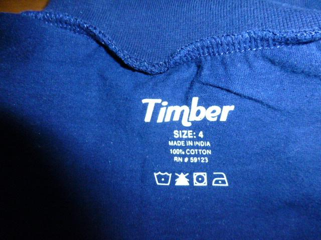 водолазка Timber на 4-летнего