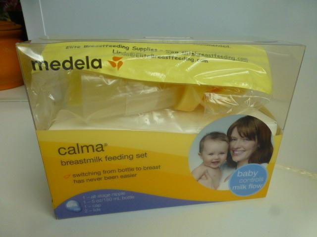набор для кормления Medela Calma, новый