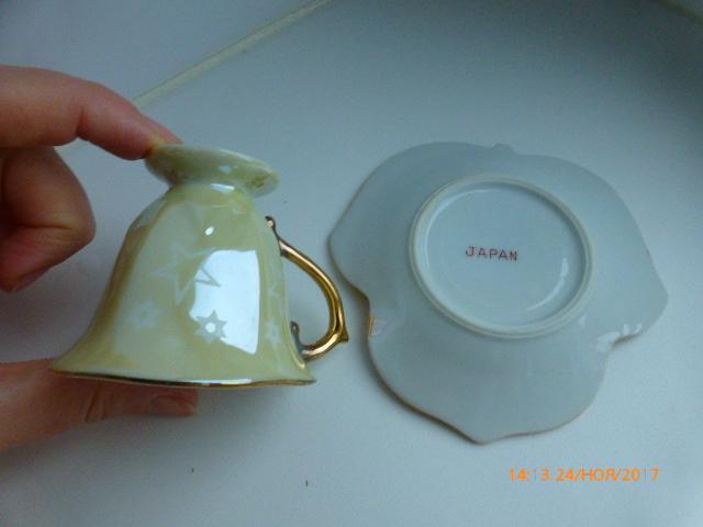 коллекционный фарфор, кофейная пара,Япония, винтаж