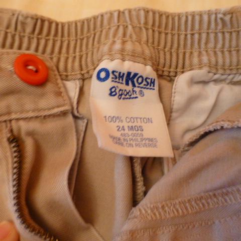 брюки OshKosh на 24мес.+