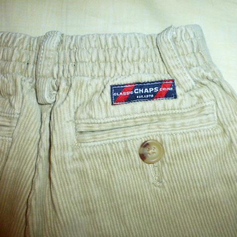 брюки вельветовые Chaps