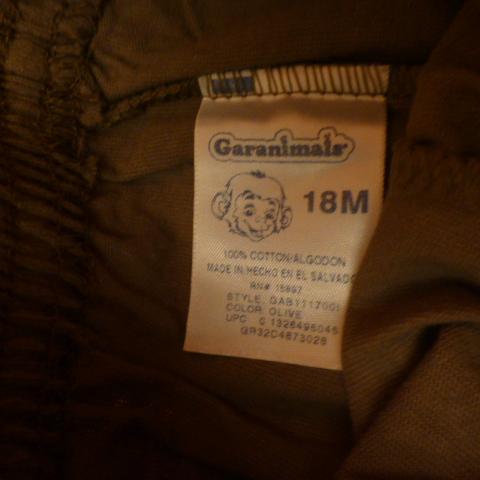 штаны с лампасами Garanimals на 18мес.