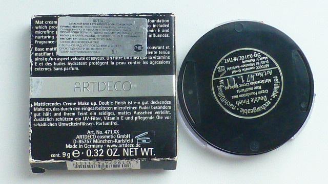 пудра компактная ArtDeco, тон 01, сменный блок,