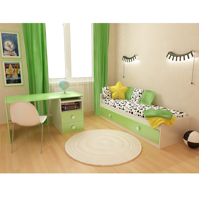 Детская кроватка-трансформер Алеся