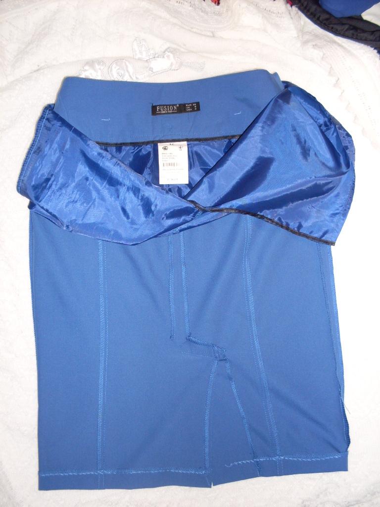 юбка FUSION синяя