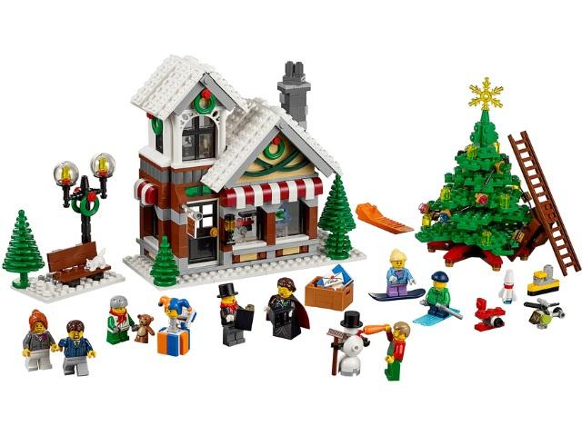 Новый Лего Lego 10249 зимний магазин игрушек
