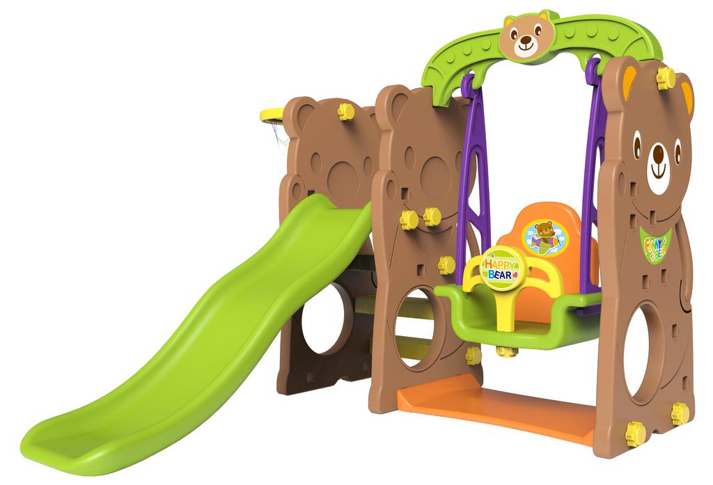 """Toy Monarch Игровой комплекс """"Мишка"""" с качелями"""