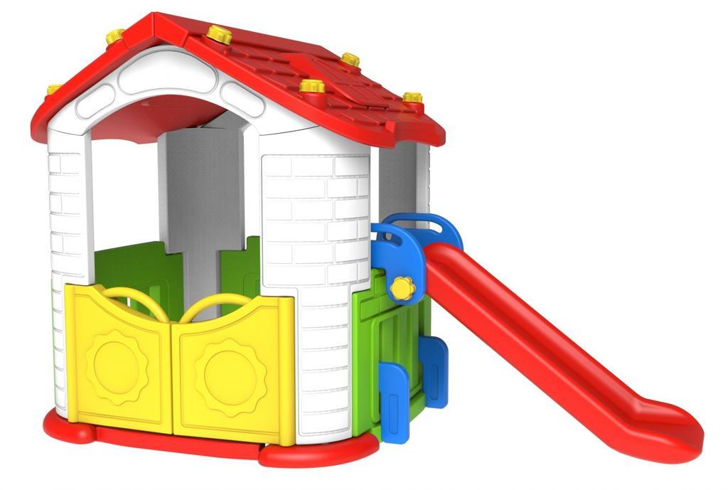 Toy Monarch Игровой домик с горкой