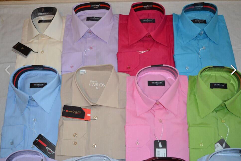 рубашки мужские новые