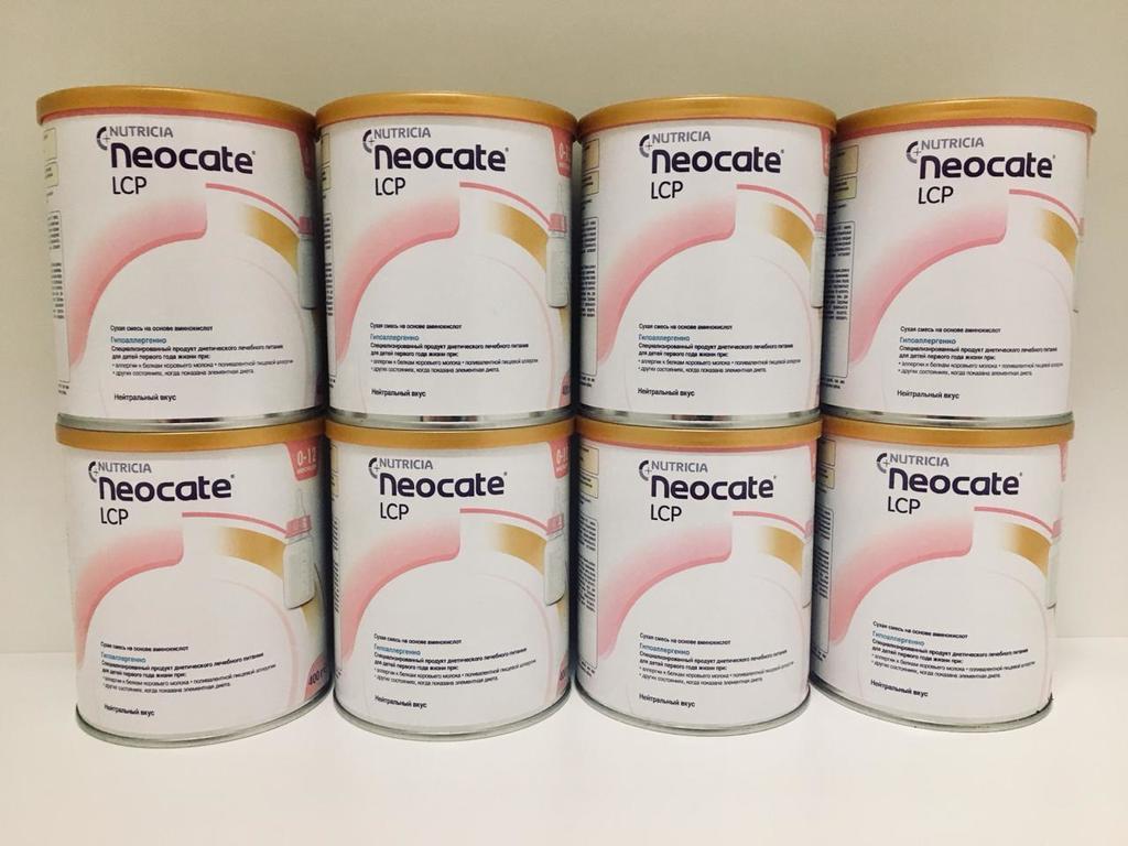Neocate LCP Neocate Junior Pepticate Питание Смесь
