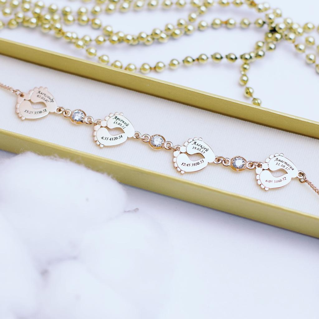 Памятные браслеты для мам