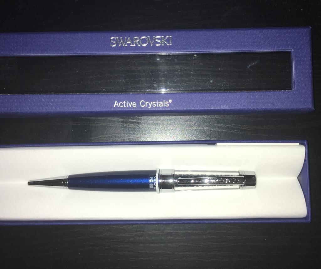 Ручка с USB Swarovski 4 Gb Новая