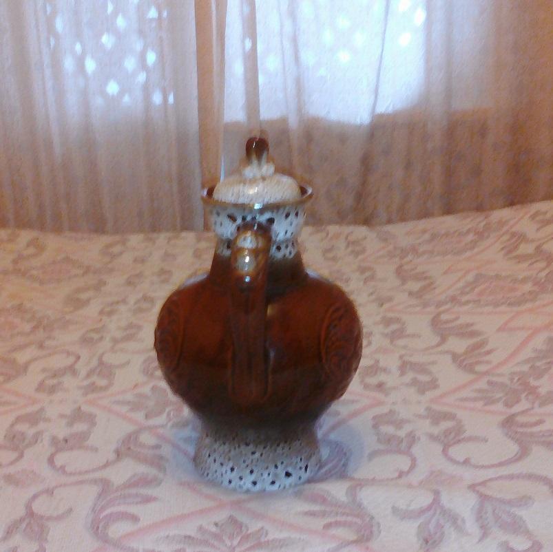 Кувшин керамика СССР большой на 4 л.