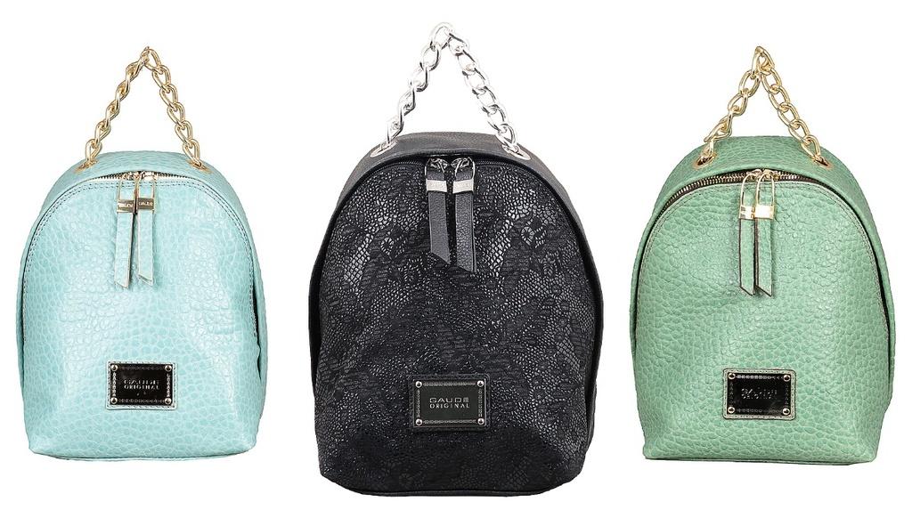 Новые кожаные рюкзаки Gaude Италия