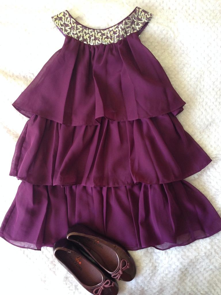 Праздничное платье Sweet Kids (США) + балетки