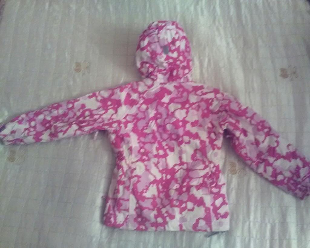 Куртка детская на флисе, на 7-8 лет