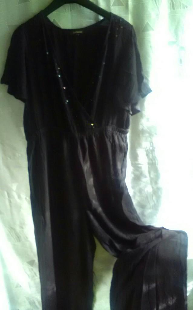 Новый черный стильный комбинезон, бохо шик, Индия