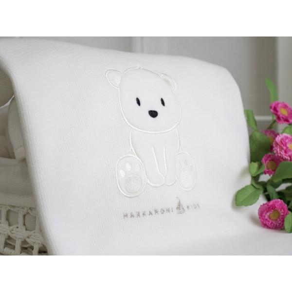 """Плед одеяло на выписку """"Полярный мишка"""""""