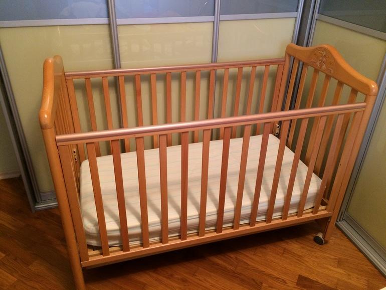 Детская кроватка Pali Италия +матрас Pali +Бортики