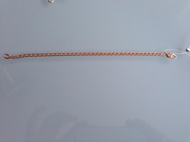 Новый позолоченный браслет-серебро (925) р.17