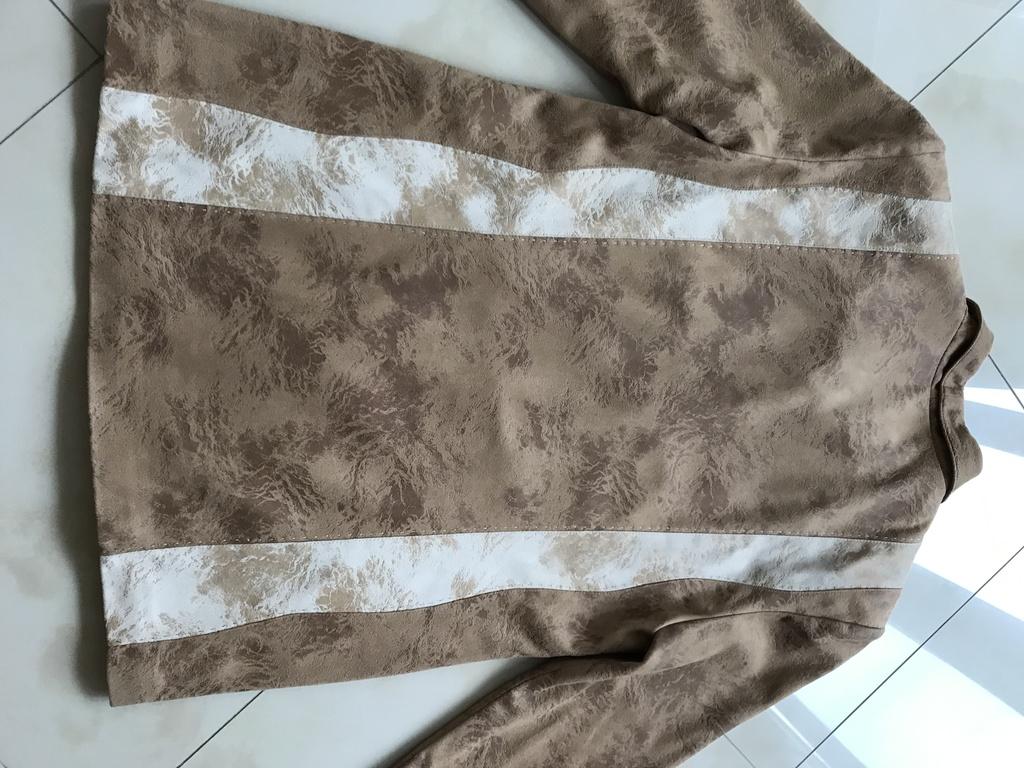 Стильная Куртка-Пиджак под замшу р.48 (б/у)